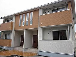 岡山県井原市木之子町の賃貸アパートの外観