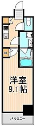 ラフィスタ三ノ輪[302号室]の間取り