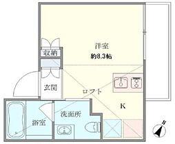 東京都港区南麻布1丁目の賃貸マンションの間取り