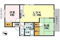 サンシャイン池田[2階]の間取り