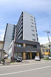 北海道札幌市中央区南十七条西9丁目の賃貸マンションの外観