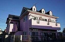 千葉県柏市あかね町の賃貸アパートの外観