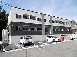 和歌山県岩出市桜台の賃貸アパートの外観