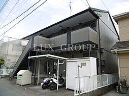 東京都青梅市勝沼3丁目の賃貸アパートの外観