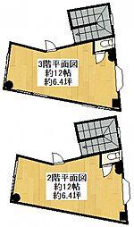 新秋津駅前店舗[2階]の間取り