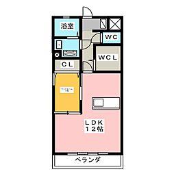 ウィルモアKOEDO[3階]の間取り