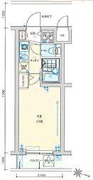 バージュアル横濱妙蓮寺[4階]の間取り