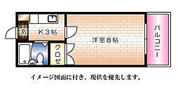 エステート平成--[210号室]の間取り
