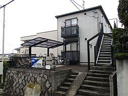 愛知県名古屋市千種区池園町1丁目の賃貸アパートの外観