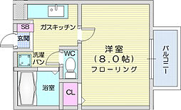北山駅 3.5万円