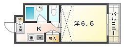 シャンブレヨシ[3階]の間取り