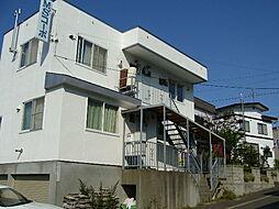 北海道札幌市豊平区西岡一条3丁目の賃貸アパートの外観