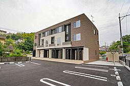 岡山県岡山市中区東山4丁目の賃貸アパートの外観