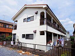埼玉県所沢市和ケ原2丁目の賃貸アパートの外観