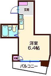 神奈川県横浜市神奈川区六角橋6の賃貸マンションの間取り