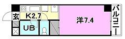 オクトワール松山土居田(東)[403 号室号室]の間取り