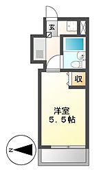 エッフェル鶴舞66[7階]の間取り