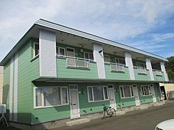 ラピュタハウスB[B5号室]の外観
