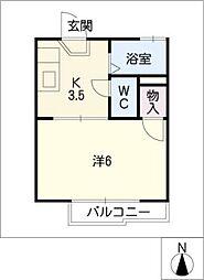 Junoheim[2階]の間取り
