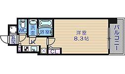 S-RESIDENCE緑橋駅前[209号室]の間取り