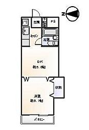 エミネンス新松戸[1階]の間取り