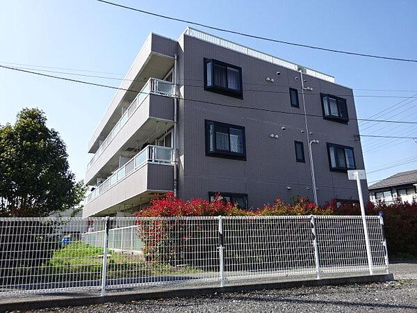 東京都昭島市上川原町1丁目の賃貸マンションの外観