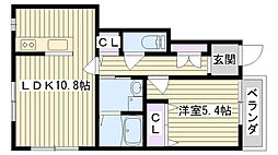 Gran・casa[101号室]の間取り
