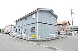 長野県長野市稲里町中央2丁目の賃貸アパートの外観