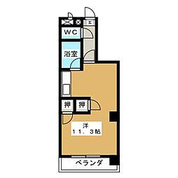 悠山荘[2階]の間取り