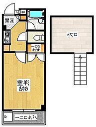 プレステージフジ 狭山壱番館[1階]の間取り