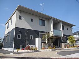 奈良県奈良市中山町西2丁目の賃貸アパートの外観