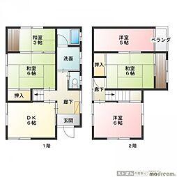 [一戸建] 東京都足立区伊興5丁目 の賃貸【/】の間取り
