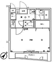 福大前エクセルアベニュー27[2階]の間取り