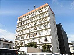 東京都大田区中央8丁目の賃貸マンションの外観