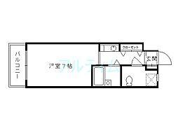 第3藤岡マンション[1階]の間取り