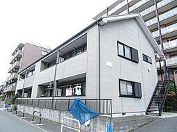 東京都足立区谷中4丁目の賃貸アパートの外観