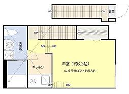 グランコンフォール東墨田[2階]の間取り