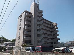 愛媛県松山市保免西1丁目の賃貸マンションの外観