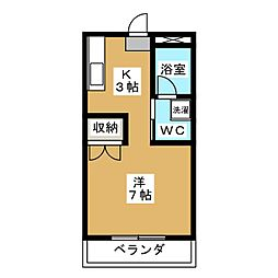 アネックスSANYO[2階]の間取り