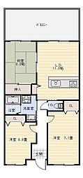 小枝ビル2[5階]の間取り