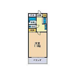 パルム松枝[2階]の間取り