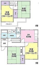 [一戸建] 埼玉県春日部市粕壁 の賃貸【/】の間取り