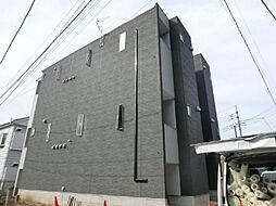 埼玉県さいたま市見沼区蓮沼の賃貸アパートの外観