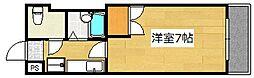エクセル広瀬[3階]の間取り