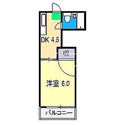 ニューホープハイツIII[2階]の間取り