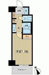 ベジフル北新宿弐番館[0306号室]の間取り