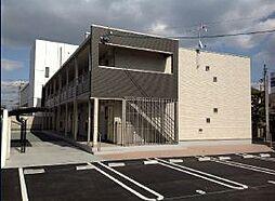岡山県倉敷市中畝1丁目の賃貸アパートの外観