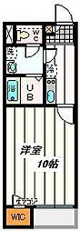 埼玉県さいたま市北区日進町1の賃貸アパートの間取り