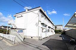 岡山県岡山市中区江崎の賃貸アパートの外観