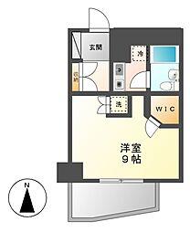ユース山手館[9階]の間取り